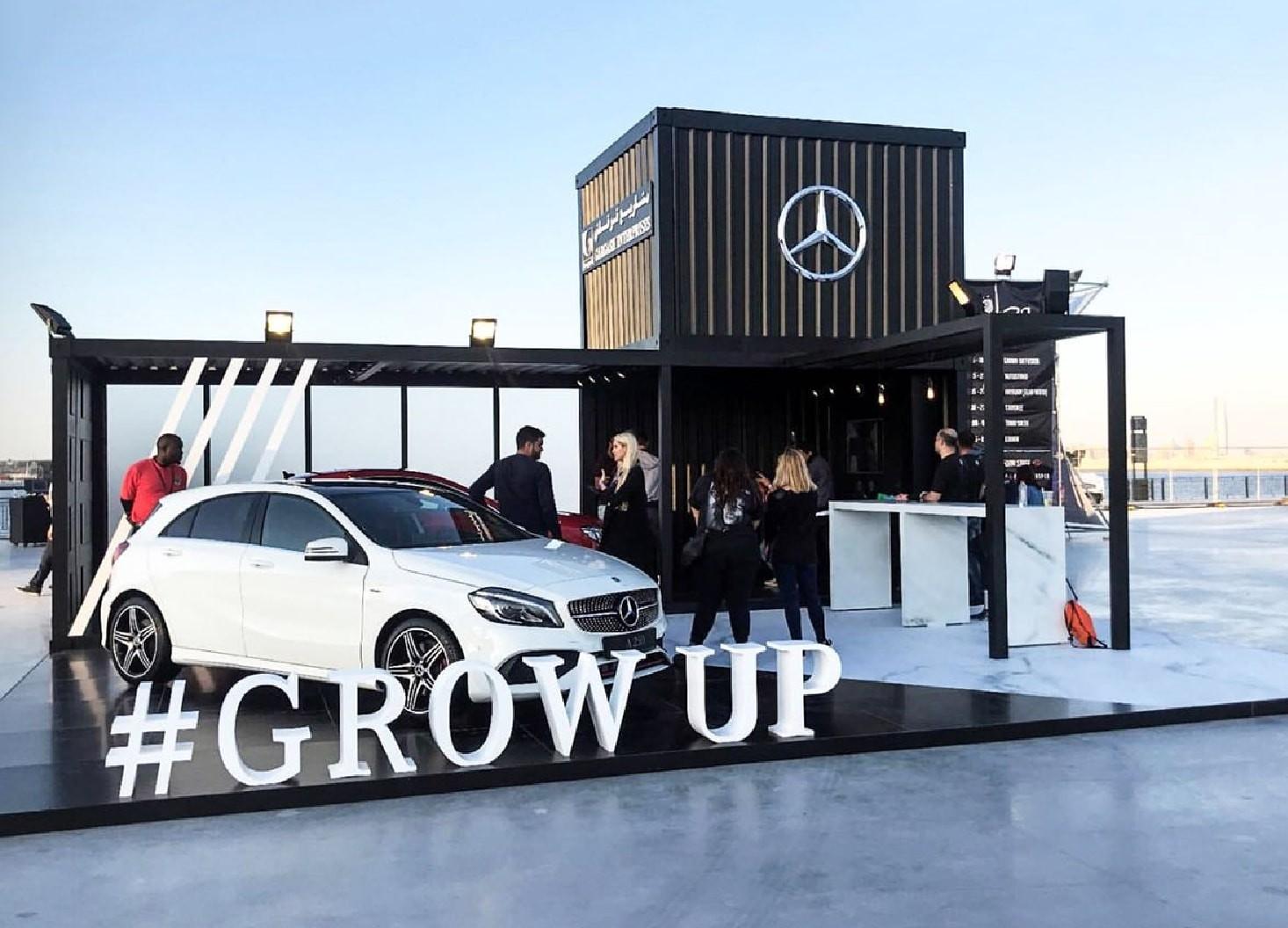 Mercedes-Benz Grow Up Campaign - Hatch Design - Digital Creative Agency