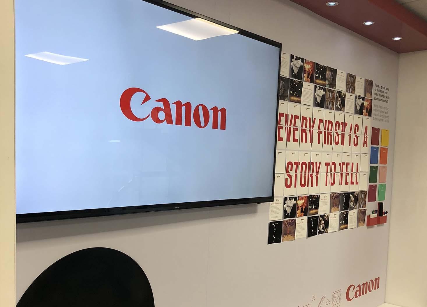 Canon Be Story Ready- Hatch Design - Digital Creative Agency