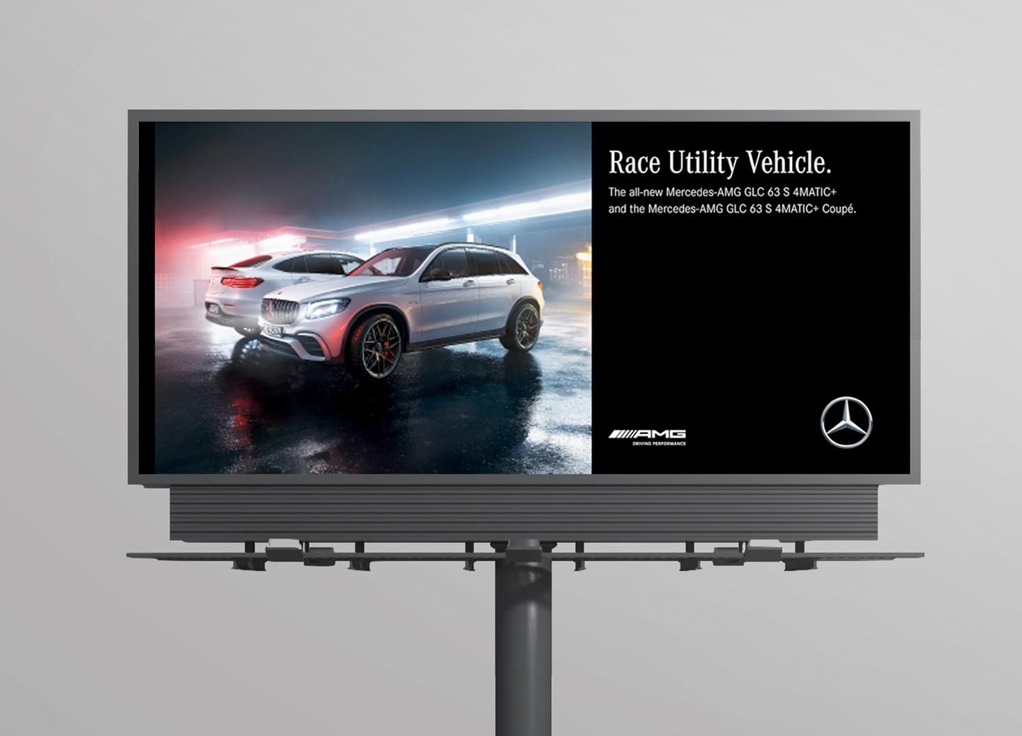 GLC 63 S Campaign - Hatch Design - Digital Creative Agency